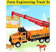 Hight auto giocattolo di qualità per i bambini del camion attrito impostato con strumenti il tema farm 20142-4