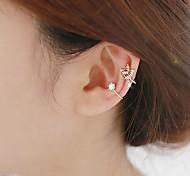 No Hole Bird Diamond Earring