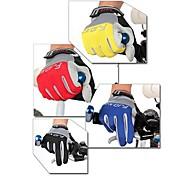 Luvas Esportivas Ciclismo/Moto Homens / Todos Dedo TotalAnti-Derrapagem / Anti-desgaste / Vestível / Respirável / Camurça de Vaca á
