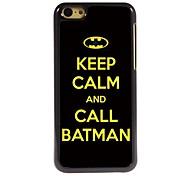 Call Batman Design Aluminum Hard Case for iPhone 5C