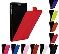 Genuine Crazy Horse PU Leather Slim Light Flip Case Cover for Samsung Galaxy Note 4(Assorted Colors)