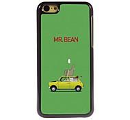 hard case de alumínio projeto mr.beam para iphone 5c