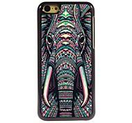 elefante caso de alumínio design para iphone 5c