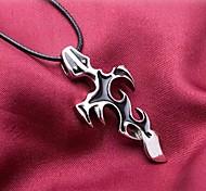 Men's Cross Pendant Necklace