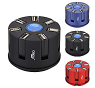 CIBOU CBO-007 All In One Extension Socket with USB HUB 2.0 Card Reader 5V Power Assorted Colors