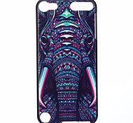Elephant Pattern PC Hard Back Cover Case for iTouch 5