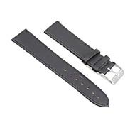20mm PU Leather Stitch Watch Band Strap Watchband Black Model Fashion Watch Cool Watches Unique Watches