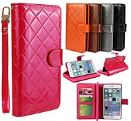 High-End Multi-Functional Wallet PU Leather Cover with Stand and Card Slot for iPhone 6 Plus (Assorted Colors)
