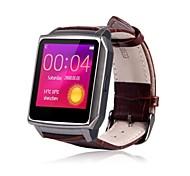 wwp028 SmartWatch indossabile, controllo dei media / cardiofrequenzimetro / ora per smartphone Android