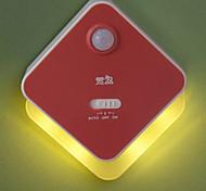 Xuanpin 4Led Yellow/White Light Human Body Induction Lamp(Red)