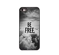 Be Free In The Sky Design  Aluminum Case for iPhone 5/5S