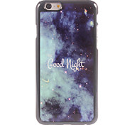 Good Night Design Aluminium Hard Case for iPhone 6