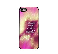 Be Kind To Myself Design  Aluminum Case for iPhone 5/5S