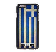 "Personalized Case Flag of Greece Design Metal Case for iPhone 6 (4.7"")"