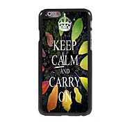 Keep Calm and Carry On Design  Aluminum Case for iPhone 6 Plus