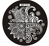 Nail Art Stamp Stamping Image Template Plate hehe Series NO.6
