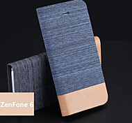 Jeans PU Holder Mobile Phone Case for ZenFone 6 (Assorted Colors)