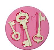 силиконовые формы / форма ключевым стимпанк каркас для рукоделия ювелирные изделия шоколад помады PMC смолы глины