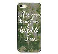 Wild & Free Design Hard Case for iPhone 4/4S