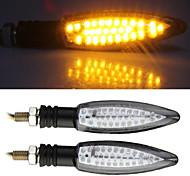 2x Motorcycle Amber 30 LED Turn Signal Indicator Light Bulb for Yamaha QZ - 011