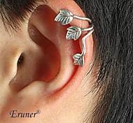 eruner® 2015 estilo punky de la moda europea y americana deja oído pendiente huesos clips para las orejas pinza para hombres y mujeres