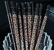Dark Leopard Grain Black Ink Gel Pen(1 PCS)