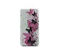Butterfly Connection Up And Down Open PU Full Body Case with for Card Slot for Sony Xperia Z3