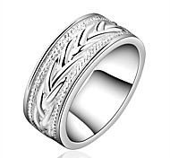Hot Sale Fashion Ring Silver Plated Ring Silver Color Jewelry ring factory prices fashion