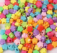 BaoGuang®50Pcs Rainbow Color Loom Fashion Loom Stars Beads(Random Color)