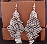 2015 Fashion Multi-Level Diamond Ladies Long Earrings