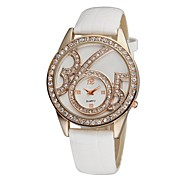 "Women's Bracelet Watch Quartz Analog Camouflage Special Unique ""365"" Personality Dial White/Brown/Black/Red/Purple"