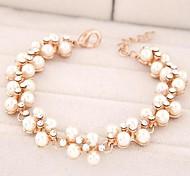 Fashion Wild Temperament Diamond Pearl Bracelet
