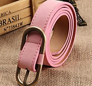 Women PU Waist Belt , Casual Leather