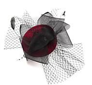 Chapeau/Bijoux de Front ( Plume , Plume