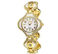 Women's Bracelet Irregular Rectangle Case Elegant Casual Watch Quartz Analog Bohemian Gold/Rose Gold/Silver