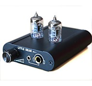 Little bear Tube Valve Headphone Amplifier Preamplifier P2-1-Black