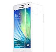 Samsung Handy - Samsung Galaxy A7 - Rückseitige Hülle - Transparent ( Weiß , Silikon )