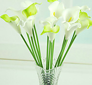 "14.2""L Artificial PU Small Calla Flowers for Decoration"