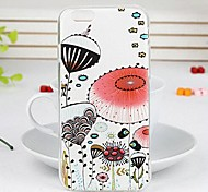 Painted Cartoon Series Umbrella TPU Soft Back Cover for iPhone 6