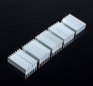aletas 20 * 14 * 6 mm (5 x)