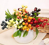 Set of 2 Rural Style Simulation Fruit Plants Multicolor Optional