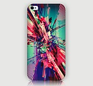 Punk Style Pattern Back Case for iPhone4/4S