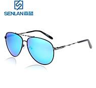 Sunglasses Men / Women / Unisex's Lightweight / Retro/Vintage / Polarized Flyer Blue / Gray Sunglasses / Driving Full-Rim
