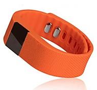 tw64 indossabili braccialetto intelligente wristband, bluetooth4.0 / OLED / pedometro / inseguitore sonno per android / ios