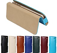 New Genuine Belt Clip Pouch Crazy Horse Leather Phone Case Cover for iPhone 6 (Assorted Colors)