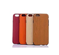 GOFO Special Design Wood Grain Design Silicone TPU Back Case for iPhone 6 (Assorted color)