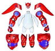 grand héros 6 armure-up modèle figurines Baymax anime jouet
