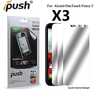 High Transparency Mirror LCD Screen Protector for Alcatel One Touch Fierce 2 (3 Pieces)