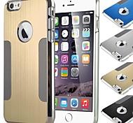Funda Trasera - Diseño Especial - para iPhone 6 ( Negro/Azul/Morado/Rosado/Oro/Plata , Metal )