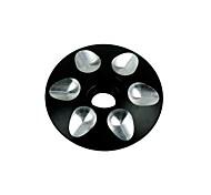 tenedor ( Negro/Rojo/Azul/Dorado , aluminio